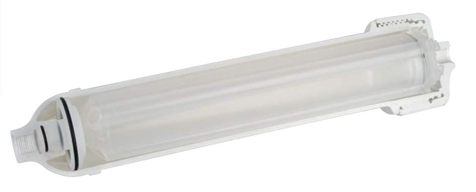 نمایی از درون فیلتر تصفیه آب یخچال