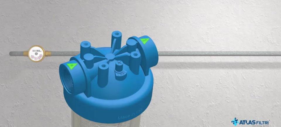 به فلش های هک شده روی هوزینگ تصفیه آب دقت کنید